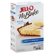Jello Dessert No Bake Homestyle Cheesecake Mix, 11.2 Ounce -- 6 per case.