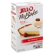 Jello Dessert No Bake Real Cheesecake Mix, 11.1 Ounce -- 6 per case.