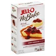 Jello Dessert No Bake Cherry Cheesecake Mix, 1.112 Pound -- 6 per case.