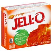 Jello Orange Gelatin,  3 Ounce -- 24 Case