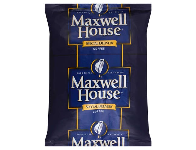 Maxwell House Special Delivery Ground Coffee - 1.4 oz. filter pack, 112 packs per case