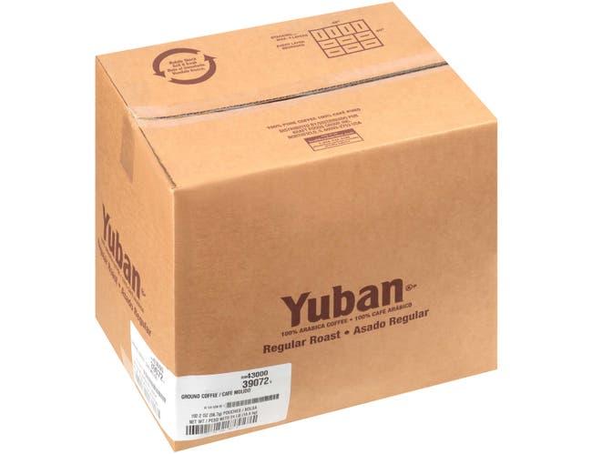 Yuban Regular Roast and Ground Coffee, 2 Ounce -- 192 per case