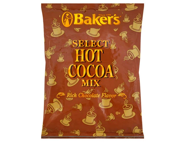 Bakers Select Hot Cocoa Mix - 2 lb. pouch, 12 pouches per case