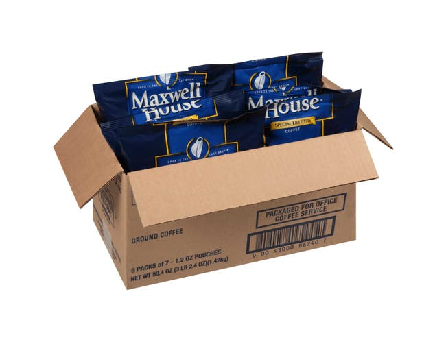 Maxwell House Special Delivery Coffee, 1.2 ounce -- 42 per case