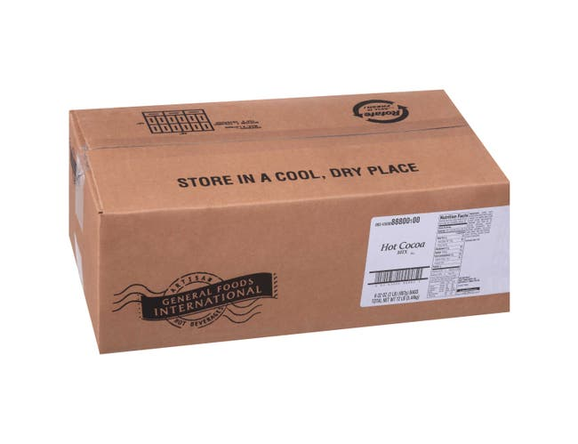 General Foods International Hot Cocoa Mix - 2 lb. pouch, 6 pouches per case