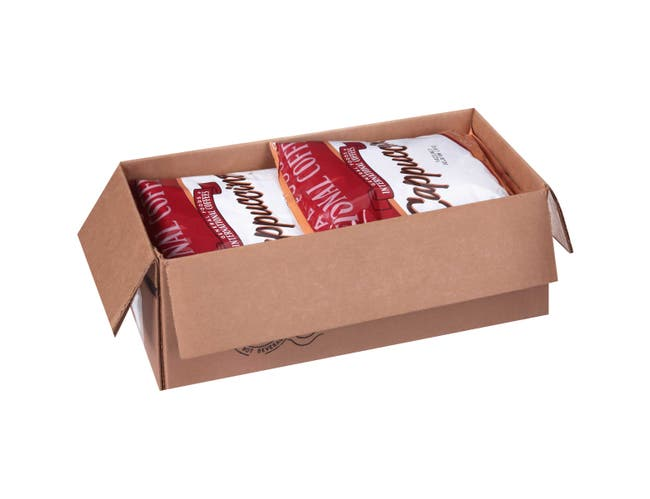General Foods International Hazelnut Belgian Cafe Cappuccino Mix - 2 lb. pouch, 6 pouches per case