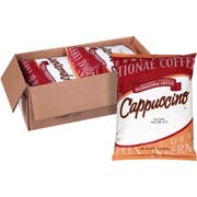 General Foods International Hazelnut Belgian Cafe Cappuccino Mix - 2 lb. pouch, 6 pouches per case