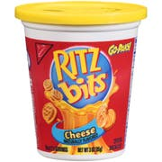 Nabisco Triscuit Ritz Bits Cheese Crackers, 3 Ounce -- 12 per case.