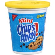 Chips Ahoy Go Paks Mini Real Chocolate Chip Cookie, 3.5 Ounce -- 12 per case.