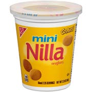 Nabisco Go Pak Mini Nilla Wafer Cookies, 2.25 Ounce -- 12 per case.