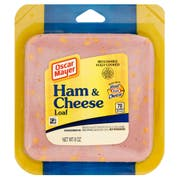 Oscar Mayer Sliced Ham and Cheese Loaf, 8 Ounce -- 9 per case.
