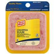 Oscar Mayer Sliced Chopped Ham, 8 Ounce -- 9 per case.