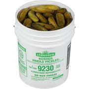 Claussen Whole Dill Pickles, 5 Gallon, 85 - 95 Count -- 1 each