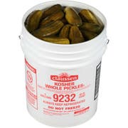 Claussen Whole Dill Pickle, 5 gallon, 60 - 70 Count -- 1 each