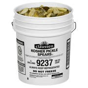 Claussen Kosher Icicles Pickle, 5 Gallon -- 1 each.