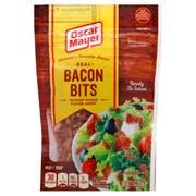 Oscar Meyar Bacon Bits, 3 Ounce Pouch -- 6 per case.