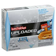 Lunchable Single Serve Turkey and Ham Convenience Meal, 15.5 Ounce -- 6 per case.