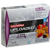 Lunchable Single Serve Chicken Nuggets with Barbeque Sauce Convenience Meal, 15.6 Ounce -- 6 per case.