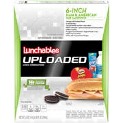 Lunchable Single Serve Ham and Cheese with Submarine Roll Convenience Meal, 15 Ounce -- 6 per case.