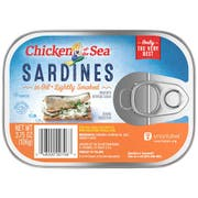 Chicken Of The Sea Smoked Sardines in Oil, 3.75 Ounce -- 18 per case.