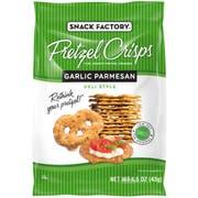 Pretzel Crisps Garlic Parmesan Pretzel -- 24 per case.