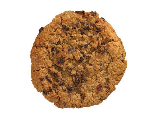 Davids Oatmeal Raisin Thaw N Serve Cookie, 4 Ounce -- 32 per case.