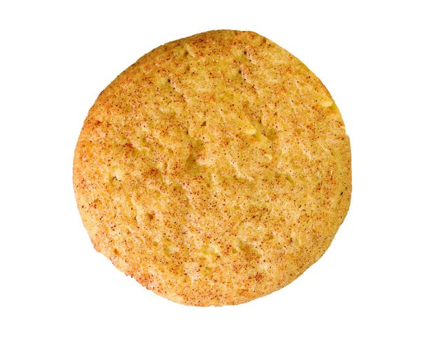 Davids Snickerdoodle Angle Cookie, 1.5 Ounce -- 216 per case.