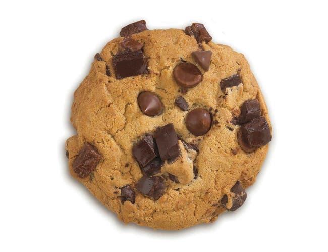 Davids Cookies Triple Chocolate Decadent Cookie Dough, 4.5 Ounce -- 80 per case.