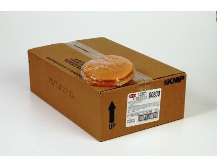Rich Products Corporation Almond Flavor Cake, 8 inch -- 24 per case.
