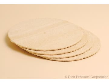 Rich's 12 Inch Fresh 'N Ready Oven Rising Sheeted Pizza Dough, 16.6 ounce -- 24 per case