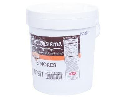 Buttercreme Pre Whipped Smores Icing, 10 Pound -- 1 each