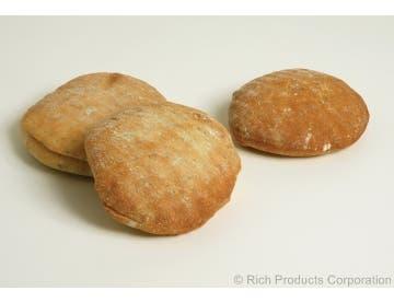 Rich Products Sliced Focaccia Bun Roll, 2.9 Ounce -- 60 per case.