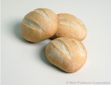 Rich Exact Back Round French Sandwich Roll, 4.25 Ounce -- 70 per case.