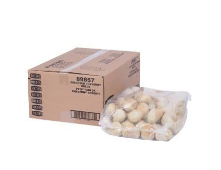 Rich Products Assorted Cheverny Roll, 1.5 Ounce -- 180 per case.