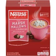 Nestle 0.71 Ounce Hot Cocoa Mix with Marshmallow, 50 count per pack -- 6 per case.