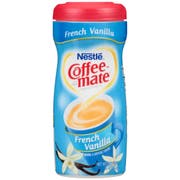 Coffee-Mate French Vanilla Powder Creamer -  15 oz. canister, 12 canisters per case