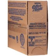 Coffee-Mate French Vanilla Liquid Bulk Creamer - 192 oz. pack, 3 packs per case
