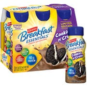 Carnation Breakfast Essentials Cookies N Creme Nutritional Drink, 8 Fluid Ounce Bottle - 6 count per pack -- 4 packs per case