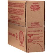 Coffee-Mate Hazelnut Liquid Bulk Creamer - 192 oz.pack, 3 packs per case