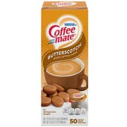Nestle Coffee Mate Butterscotch Liquid Coffee Creamer - Portion Cup, 0.375 Ounce -- 200 per case.