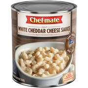Chef Mate White Cheddar Cheese Sauce, 106 Ounce -- 6 per case.