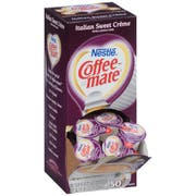 Nestle Coffee Mate Italian Sweet Creme Coffee Creamer, 0.32 Ounce -- 4 per case.