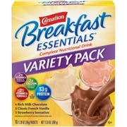 Nestle Carnation Breakfast Essentials Powder - Variety Pack, 1.26 Ounce -- 60 per case.