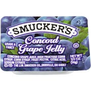 Smuckers Grape Jelly, 1/2 Ounce -- 200 per case.