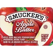 Smuckers Apple Butter, 1/2 Ounce -- 200 per case.