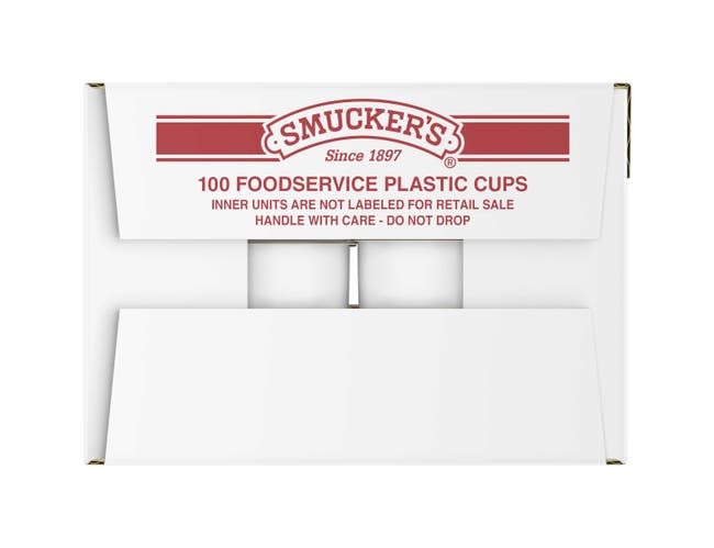 Smuckers Breakfast Syrup, 1.4 Ounce -- 100 per case.