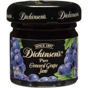 Dickinson Grape Jam, 1 Ounce -- 72 per case.
