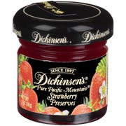 Dickinsons Strawberry Preserve, 1 Ounce -- 72 per case.