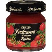 Dickinson Ketchup, 1.4 Ounce -- 72 per case.