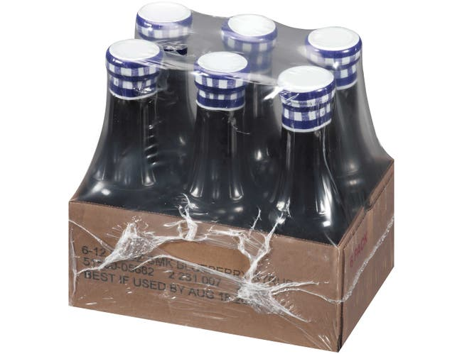 Smuckers Blueberry Syrup, 12 Fluid Ounce -- 6 per case.